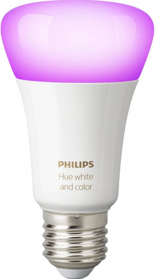 Philips Lighting Hue LED-lamp Energielabel: A+ (A++ E) White and Color Ambiance E27 9 W RGBW online kopen