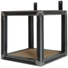 AnLi Style AnLi-Style Wandrek Fugees Square Wall rack 20x20 cm online kopen